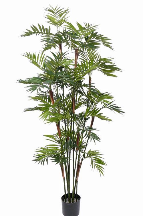Fleurs artificielles fleurs en soie top art int for Palmier plastique ikea